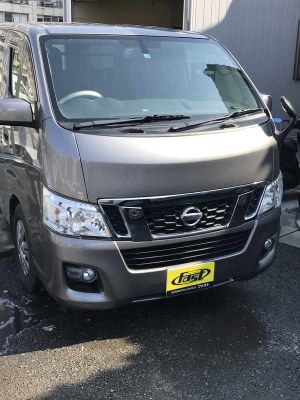 大阪市西淀川区 S様 NV350キャラバン 車両販売