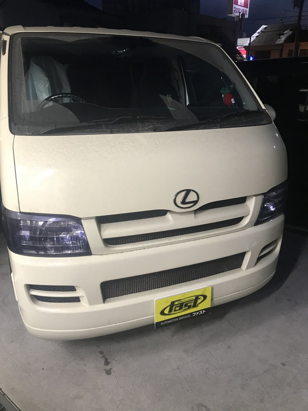 堺市堺区 S社様 ハイエース車検