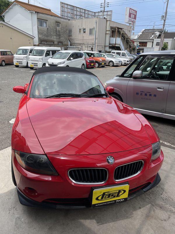 交野市 K様 BMW Z4 車検